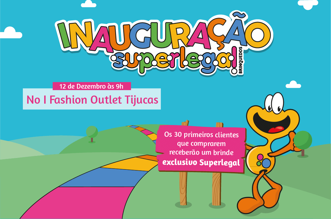 Inauguração da Superlegal Tijucas, no I Fashion Outlet SC